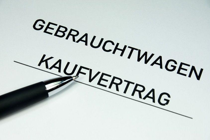 Autoexport Schweiz Kaufvertrag Zum Download